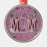Rottweiler MOM Ornament