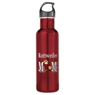 Rottweiler Mom 24oz Water Bottle
