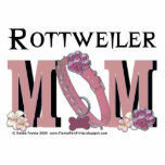 Rottweiler MOM Photo Sculpture