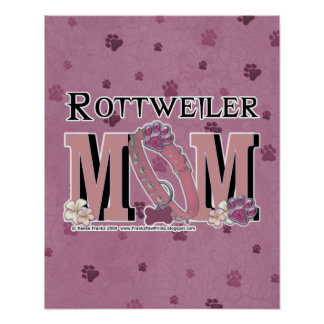 Rottweiler MOM Posters