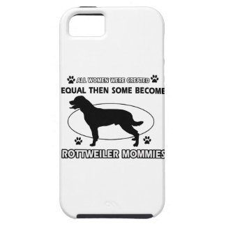 Rottweiler Mommy Designs iPhone 5 Cover