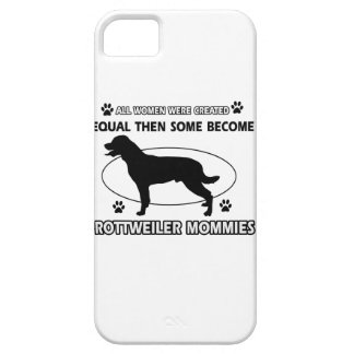 Rottweiler Mommy Designs iPhone 5 Cases