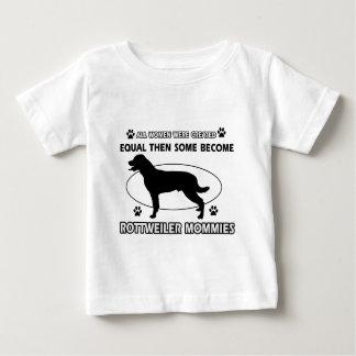 Rottweiler Mommy Designs T Shirt