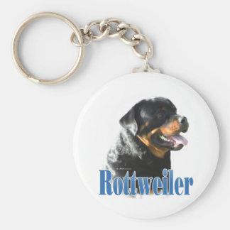 Rottweiler Name Key Chains