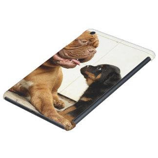 Rottweiler-perrito-perro-deseo vivo funda para iPad mini retina