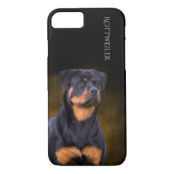 Case-Mate Barely There iPhone 7 Case with Rottweiler Phone Cases design