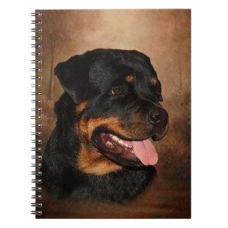 Rottweiler Photo Notebook