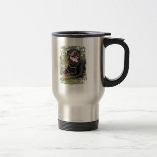 Rottweiler Photo Stainless Steel Travel Mug