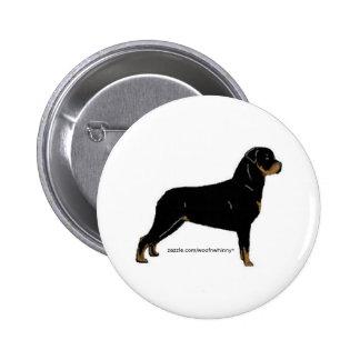 Rottweiler Pinback Button