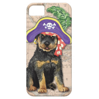 Rottweiler Pirate iPhone SE/5/5s Case