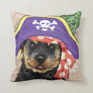Rottweiler Pirate Pillows