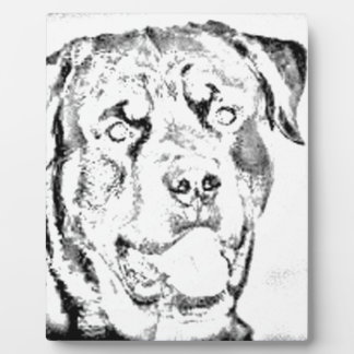 Rottweiler Photo Plaques