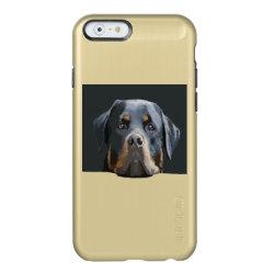 Incipio Feather® Shine iPhone 6 Case with Rottweiler Phone Cases design