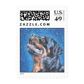 Rottweiler Postage
