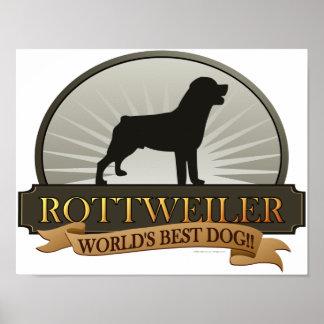Rottweiler Póster