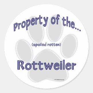 Rottweiler Property Sticker