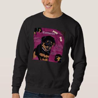 Rottweiler Pup basic sweatshirt black