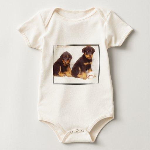 Rottweiler puppies bodysuits