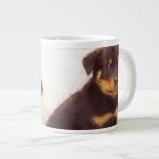 Rottweiler puppies extra large mugs