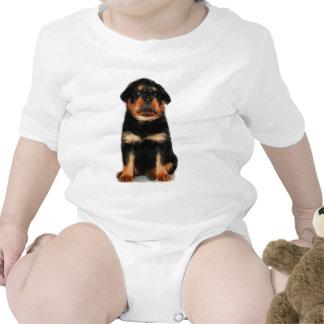 Rottweiler Puppy baby Romper