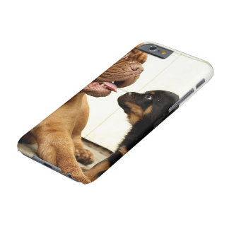 Rottweiler-puppy-dog-yearning Barely There iPhone 6 Case