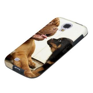 Rottweiler-puppy-dog-yearning Galaxy S4 Case