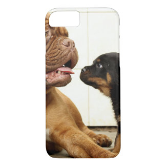 Rottweiler-puppy-dog-yearning iPhone 8/7 Case