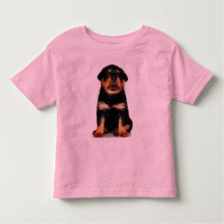 Rottweiler Puppy girls shirt