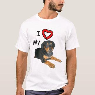 Rottweiler Puppy I Love My Rott T-Shirt