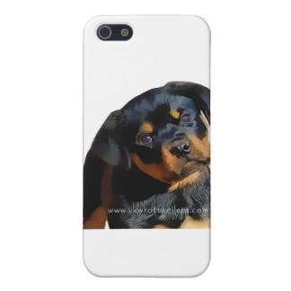 Rottweiler puppy iPhone SE/5/5s cover