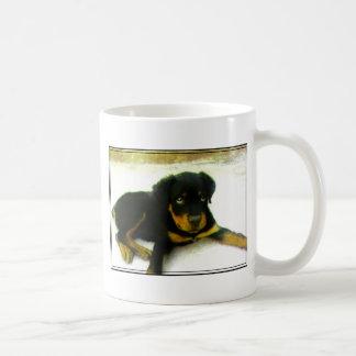 Rottweiler puppy mug