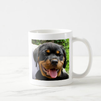 Rottweiler puppy mugs