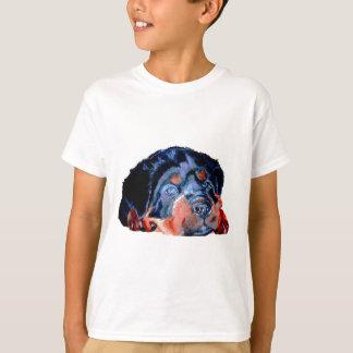 Rottweiler Puppy Portrait T-Shirt