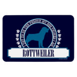 Rottweiler Rectangle Magnet