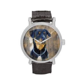 Rottweiler Reloj De Mano