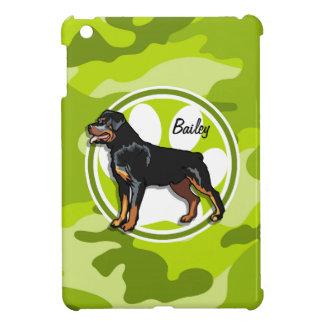 Rottweiler, Rott; camo verde claro, camuflaje