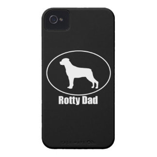 Rottweiler Rotty Dad iPhone 4/4S Case