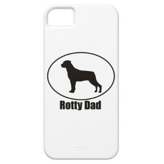Rottweiler Rotty Dad iPhone 5 Case