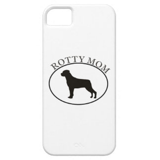 Rottweiler Rotty Mom iPhone 5 Case