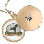 Rottweiler Round Locket Necklace