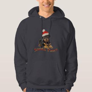 Rottweiler santa paws Sweatshirts