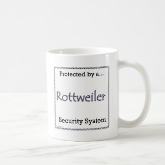 Rottweiler Security System Coffee Mug