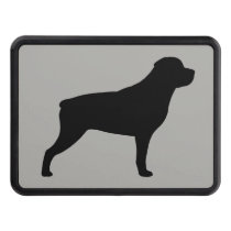 Rottweiler Silhouette Hitch Cover