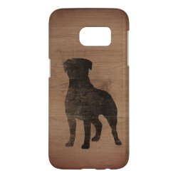Case-Mate Barely There Samsung Galaxy S7 Case with Rottweiler Phone Cases design