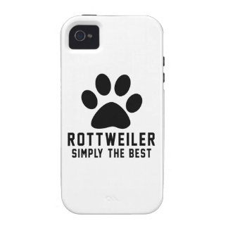 Rottweiler Simply the best Vibe iPhone 4 Covers