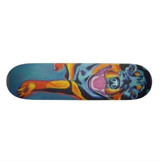 rottweiler skateboard