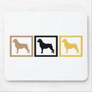 Rottweiler Squares Mouse Pad