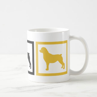 Rottweiler Squares Mugs