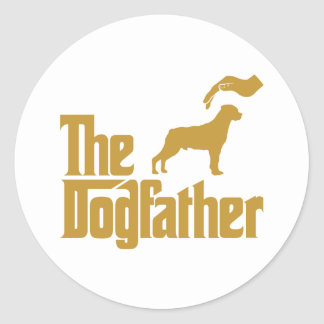 Rottweiler Classic Round Sticker