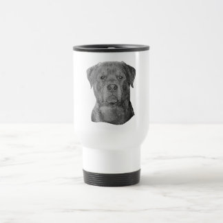 Rottweiler - Stylized Image - Add Your Own Text Coffee Mugs
